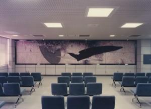 岡山運転免許所センター陶板制作 1993年
