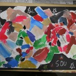 2012年1月28日(土) 「まる・しかくで色がいっぱい!!+透明スライムづくり」SOU,KENTA,KOUTA,HARUKO,KAZUKI,SAKURA,TSUBASA,MIZUKI