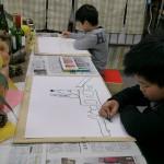 2012年2月2日(木) 「静物画に挑戦!!」KAITO,RYOTA,HARUKO