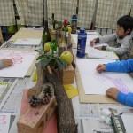 2012年2月4日(土) 「静物画に挑戦!!」KENTA,KOTA,SAKI,KAZUKI,SAKURA,SOU,TSUBASA