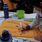 2012年3月3日(土) 「桃の花とひしもちを見て描こう」