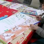 2012年3月15日(木) 「サボテンホテルを読んで絵を描こう」