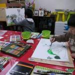2012年3月29日(木) 「静物画に挑戦!!」 無料体験会
