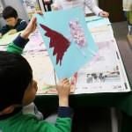 2012年4月14日(土) 「さくらの花びらではり絵をしよう」