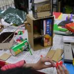 2012年4月19日(木) 「あき箱で工作しよう」 (自由工作)