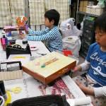 2012年4月21日(土) 「あき箱で工作しよう」 (自由工作)