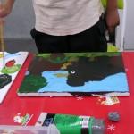 2012年6月2日(土)1日絵画教室「アクリル画入門」