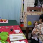 2012年6月27日(水)1日絵画教室「アクリル画入門」