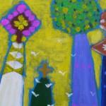 2012年8月28日(水)1日絵画教室(アクリル画)