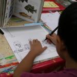 2012年9月1日(土)「おみせやさん(商店街)を描こう」
