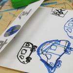 2012年9月7日(金)「おみせやさん(商店街)を描こう」