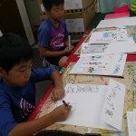 2012年9月8日(土)「おみせやさん(商店街)を描こう」