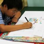 2012年9月15日(土)「おみせやさん(商店街)を描こう」