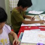 2012年9月21日(金)「おみせやさん(商店街)を描こう」