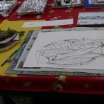 2012年10月24日(水)1日絵画教室「水彩画で描く魚の干物」
