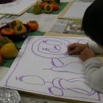 2012年11月8日(木)「秋の果物と秋の気配」