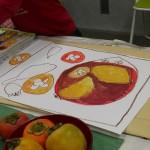 2012年11月9日(金)「秋の果物と秋の気配」
