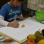 2012年11月10日(土)「秋の果物と秋の気配」