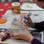 2012年12月11日(火)一般大人対象「ガラス絵入門」