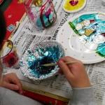 2012年12月14日(金)「ガラス絵を描こう」 着色