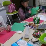 2012年12月20日(木)「砂絵オーナメントボールとクリスマスカード」