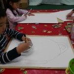 2013年1月17日(木)「伎芸天(奈良・秋篠寺)を描こう」