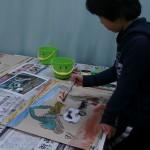 2013年2月7日(木)「千里山の工事(2)」