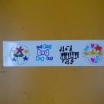 2013年3月16日(土)「数字がいっぱい2」 「シールづくり」「自由画」
