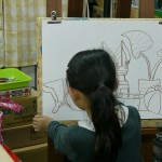 2013年4月5日(金)「船のある静物」、あるいは「船から発想する自由画」