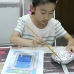 2013年6月14日(金)「砂絵フレーム+父の日メッセージカード」