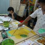 2013年6月20日(木)「テーマは自由。描きたい絵をかいてみよう。1」