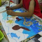 2013年7月5日(金)「テーマは自由。描きたい絵をかいてみよう。2」