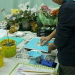 2014年3月4日(火)「鏡フレームに絵を描こう」