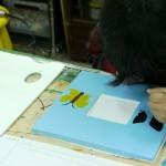 2014年3月13日(木)「鏡フレームに絵を描こう」