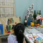 2014年8月2日(土)「アクリル画で静物を描こう」