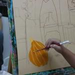 2014年8月6日(水)「アクリル画で静物を描こう」