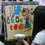 2014年8月20日(水)「アクリル画で静物を描こう」