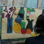 2014年8月21日(木)「アクリル画で静物を描こう」