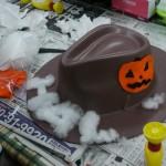 2014年10月16日(木)「ハロウィンの帽子をつくろう」