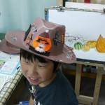 2014年10月19日(日)「ハロウィンの帽子をつくろう」
