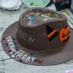 2014年10月21日(火)「ハロウィンの帽子をつくろう」