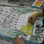 2015年2月21日(土)「鳥を描こう」 「城を描こう」