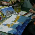 2015年3月1日(日)「鳥を描こう」 「城を描こう」