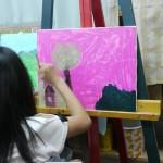 2015年5月8日(金)「キャンバスに描く風景画(アクリル画)」