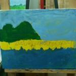 2015年5月9日(金)「キャンバスに描く風景画(アクリル画)」