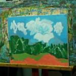 2015年5月14日(木)「キャンバスに描く風景画(アクリル画)」
