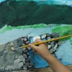 2015年5月15日(金)「キャンバスに描く風景画(アクリル画)」