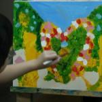 2015年5月17日(日)「キャンバスに描く風景画(アクリル画)」