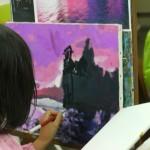 2015年5月19日(火)「キャンバスに描く風景画(アクリル画)」