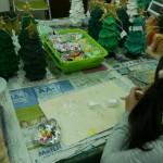 2015年12月13日(日)「クリスマスツリー(着彩)」2